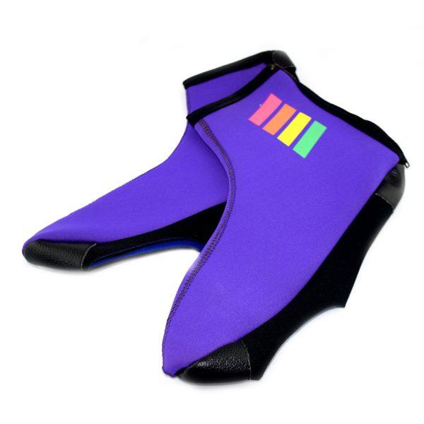 Cobertor de zapatos morado Talla XXL
