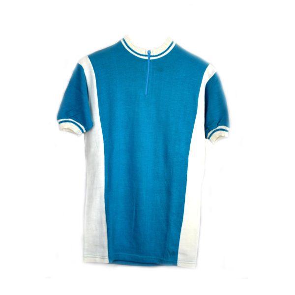 Maillot Azul con cuello blanco Talla-3-M