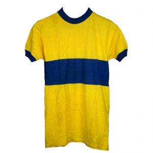 Maillot Azul y amarillo Talla-M