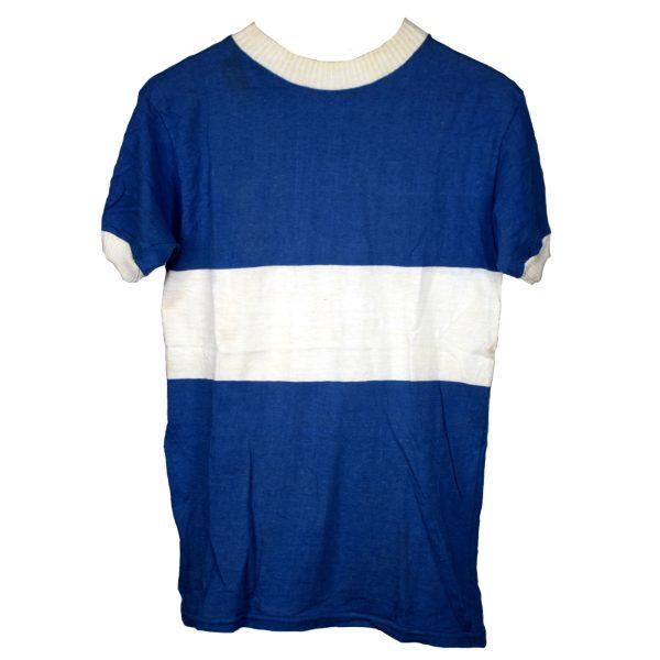 Maillot Azul y blanco Talla M
