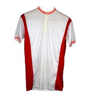 Maillot Blanco y rojo Talla-5-L y 6-XL