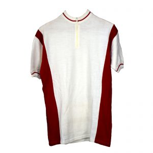 Maillot Blanco y rojo Talla M