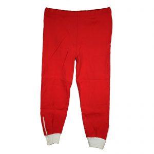 Pantalon Rojo y blanco Talla-S y M