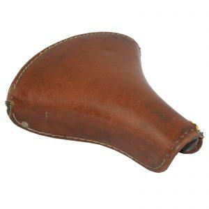 Sillin de cuero marrón claro