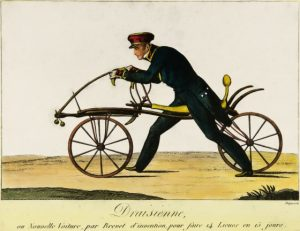 Bicicleta Draisine de Karl von Drais