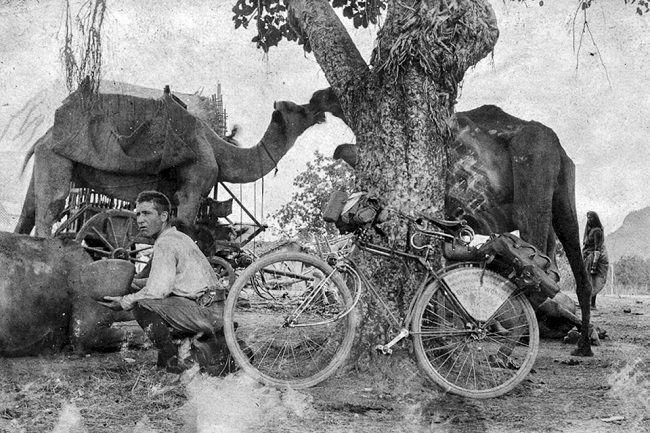 Fotografía del ciclista Frank Lenz.