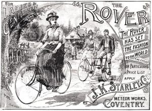 La Rover, modelo de bicicleta de J.K Starley.