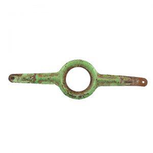 soporte guardabarros verde